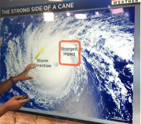 hurricane quadrants